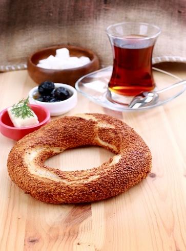 Simit, il pane turco al sesamo