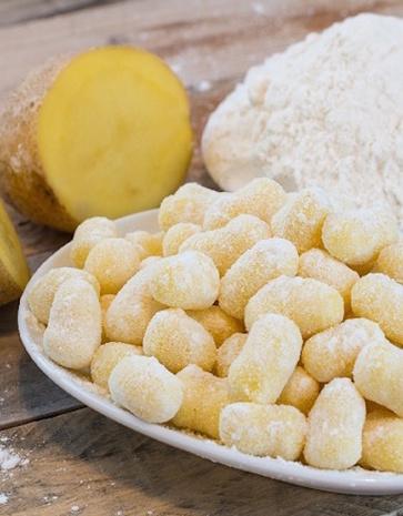 Le patate DOP e la ricetta degli gnocchetti