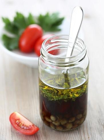Vinaigrette all'olio di noci