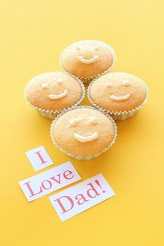 I muffin del sorriso per la festa del papà