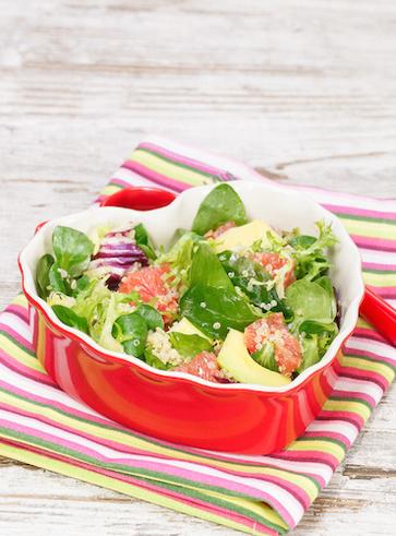 Insalata di amaranto e spinacini