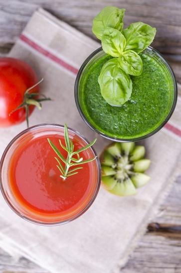 Erbe, ortaggi e frutta fresca