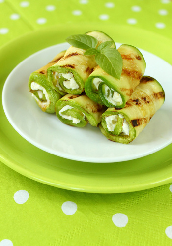Involtini verdi avocado-patata dolce
