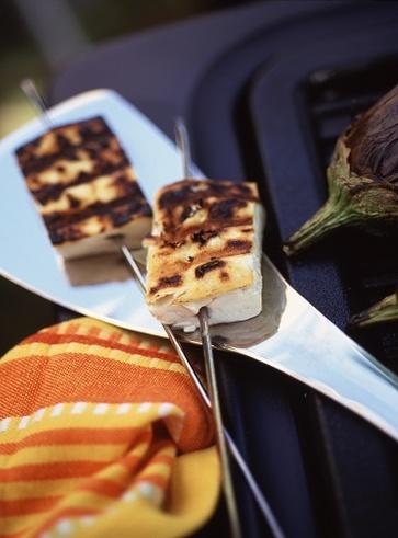 Grigliata di tofu, champignon e ananas