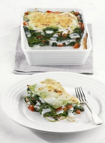 Primo piatto: lasagne colorate 5 strati
