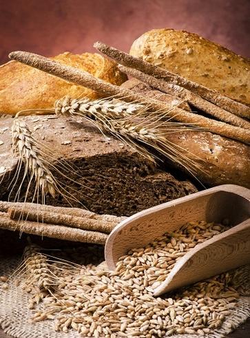 Pane con farina di castagne e noci