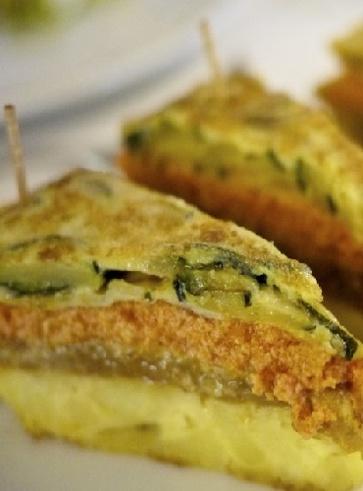 Pitta tofu e cicoria