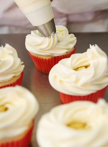 Frosting per cupcake senza burro