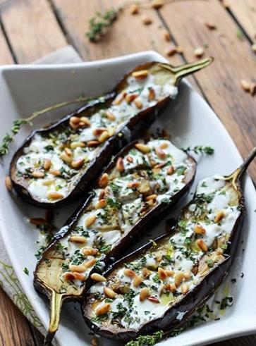 Melanzane aglio e menta