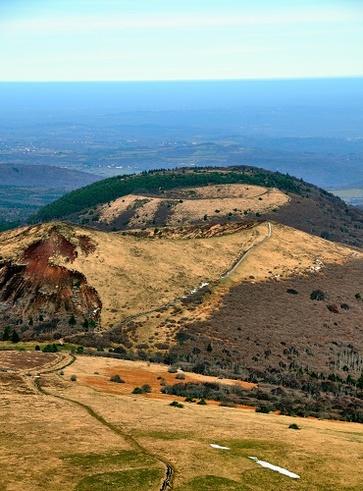 Catena dei Puys, i vulcani dell'Alvernia