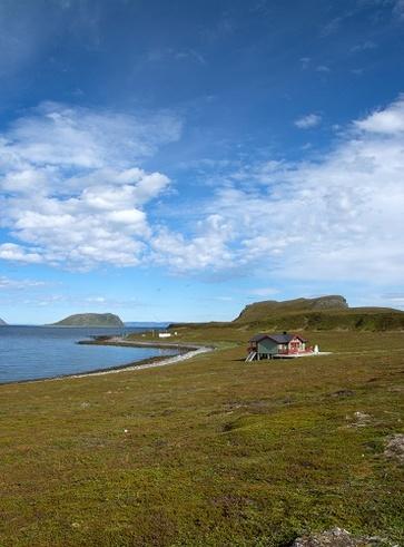 La costellazione delle isole Vega in Norvegia