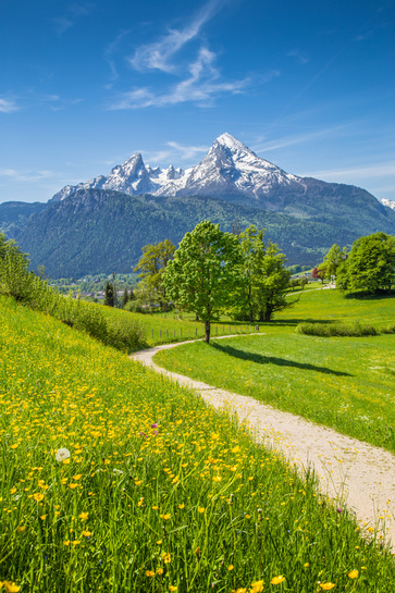 Baviera in Germania: dare benessere ai polmoni