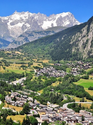 Chamois, la valle d'aosta senza auto