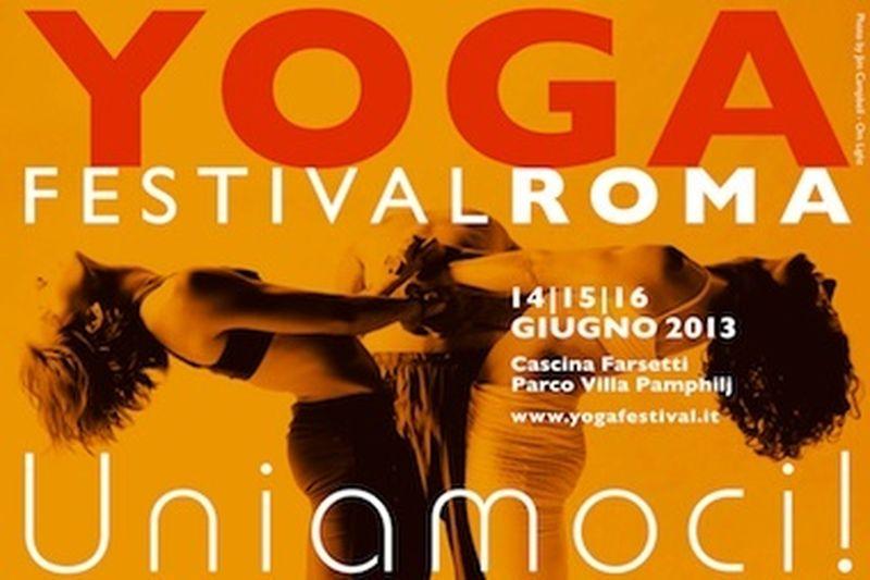 Lo YogaFestival 2013 a Roma. Uniamoci!