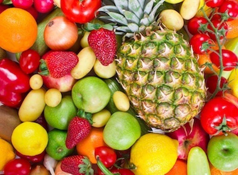 Le proprietà dei colori di frutta e verdura