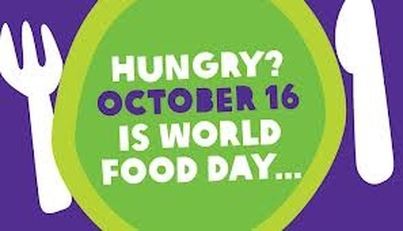16 ottobre 2013: World Food Day