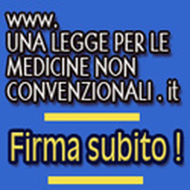Una Legge popolare sulle Medicine Non Convenzionali