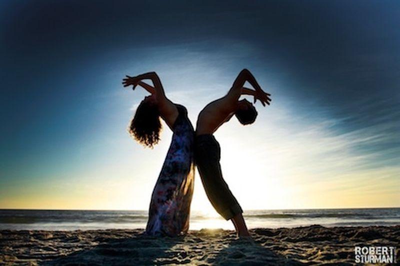 La Grande Bellezza dello yoga secondo il fotografo Robert Sturman
