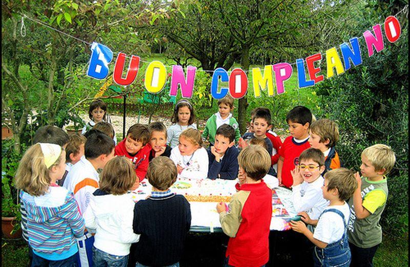 Organizzare una festa di compleanno per bambini all'aperto