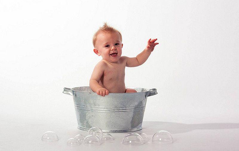 Come fare il bagnetto ai neonati