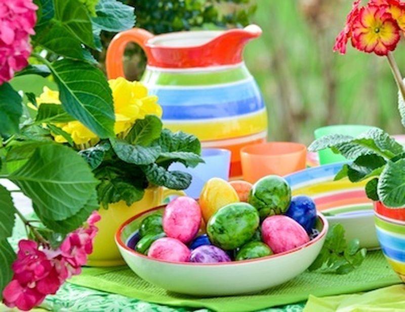 Colorazioni naturali da frutta e verdura