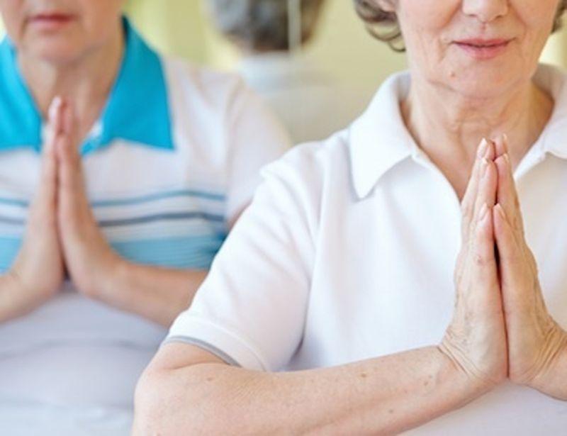 Yoga e terza età: forever young