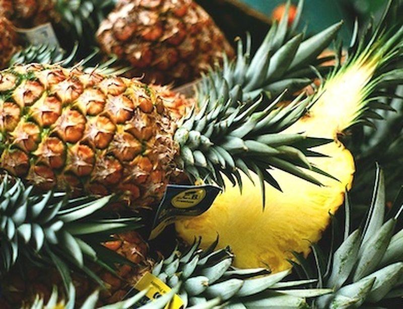 Il Gambo d'ananas che aiuta la digestione