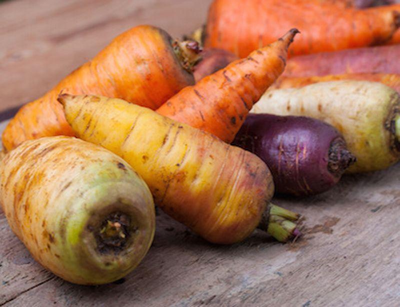 Le carote colorate e le loro proprietà