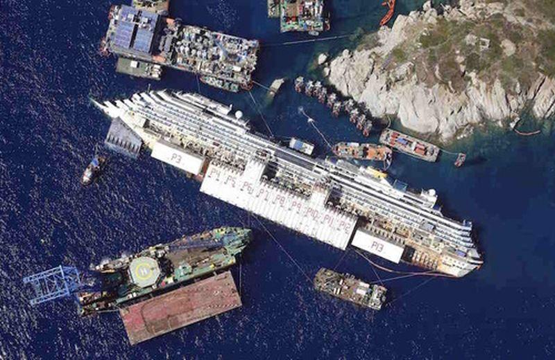 Costa Concordia e i danni all'ambiente