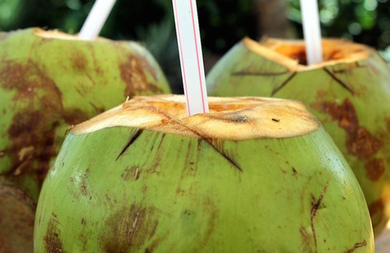 Acqua di cocco, una ricarica di potassio