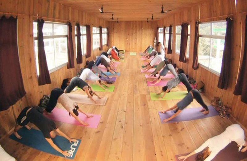Lo yoga come workout usa e getta