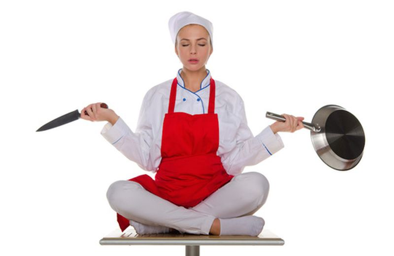 Yoga e cucina: una moda su cui riflettere