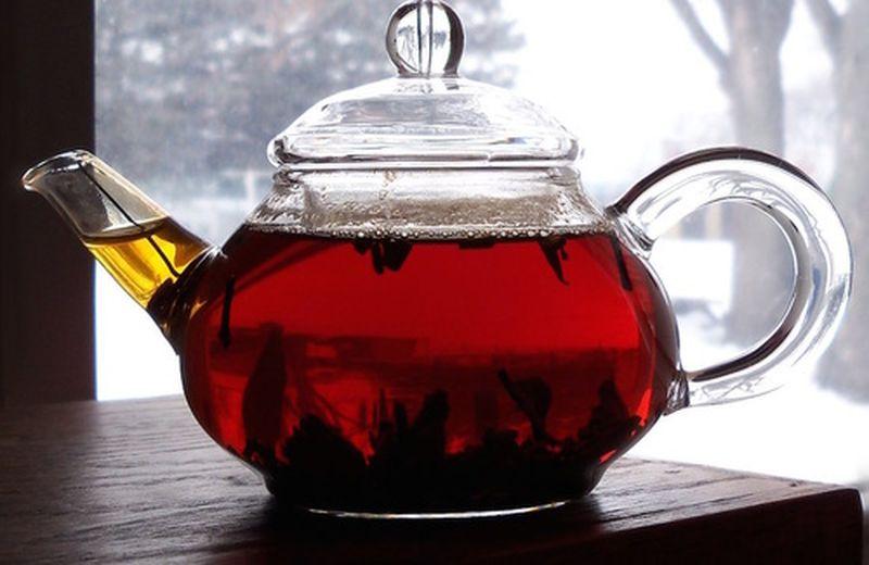 Il tè rosso cinese