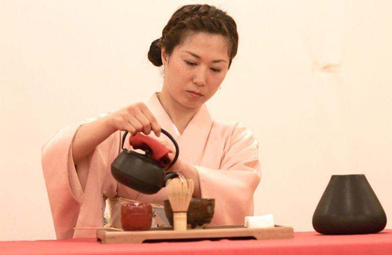 La cerimonia del tè giapponese