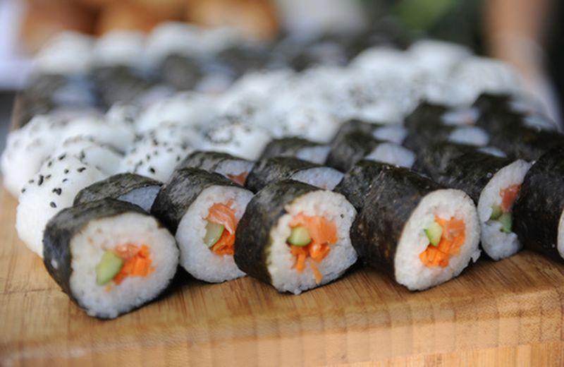 Il sushi veg