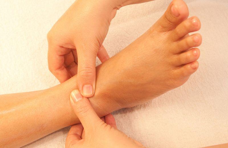 Le zone riflesse del piede: il sistema linfatico