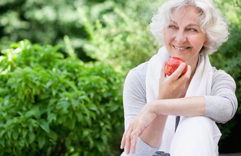 Alimentazione naturale per la terza età