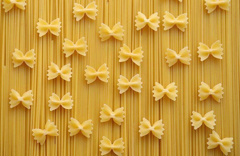 La pasta, alimento base della dieta mediterranea