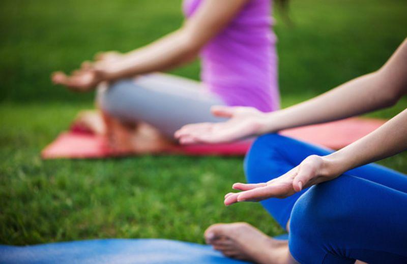 Yoga, quando ancora non era una moda