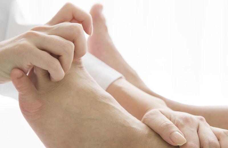 Le zone riflesse del piede: il sistema nervoso