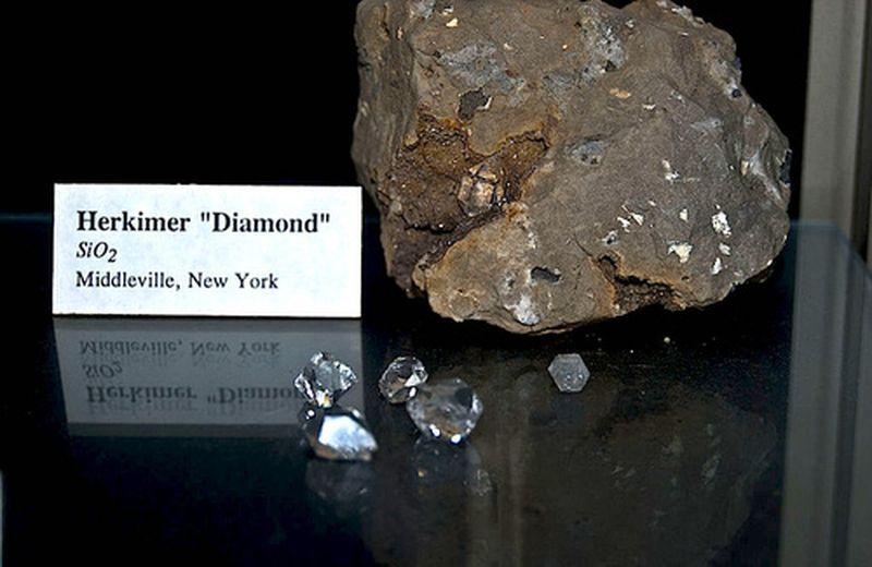 Diamantino di Herkimer, proprietà e uso