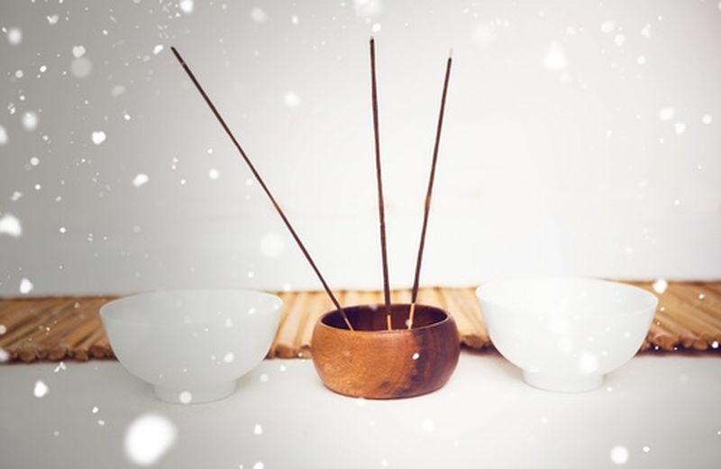 Miscela di oli essenziali per purificare la casa in inverno