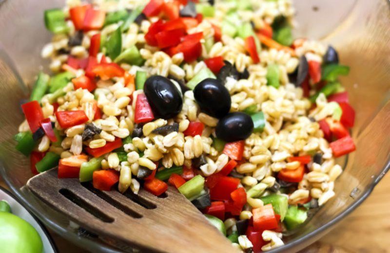 L'insalata con kamut integrale: le ricette