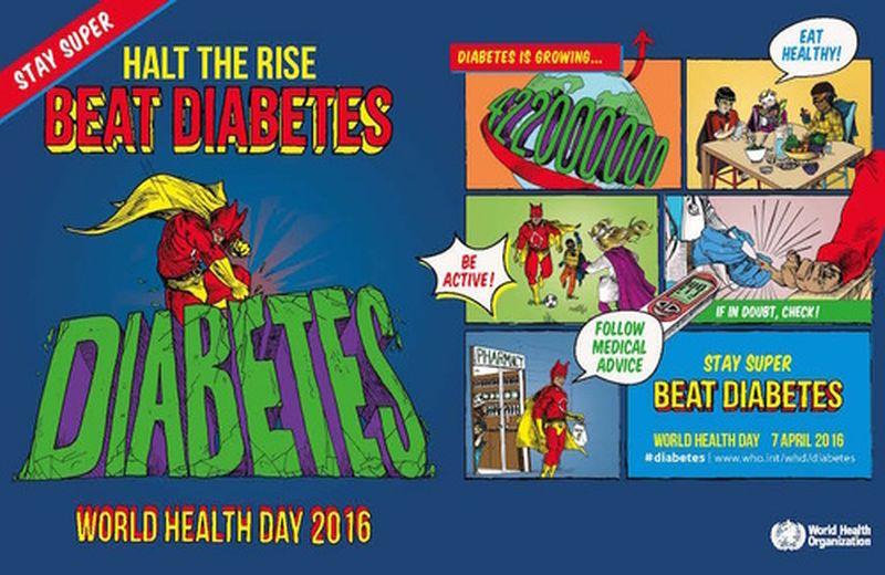 Giornata mondiale della salute: uniti contro il diabete