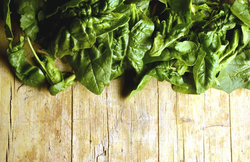 Verdura top di maggio: gli spinaci