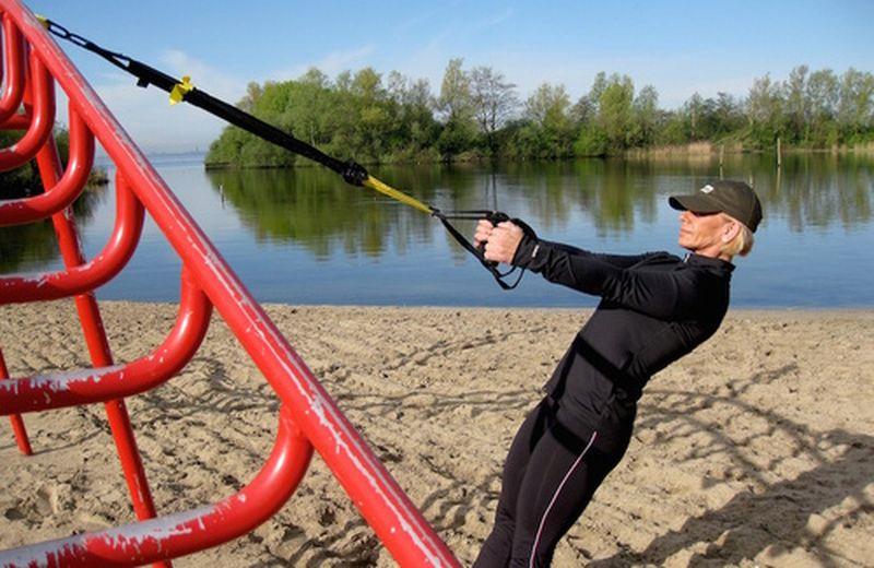 Trx, l'allenamento con i cavi