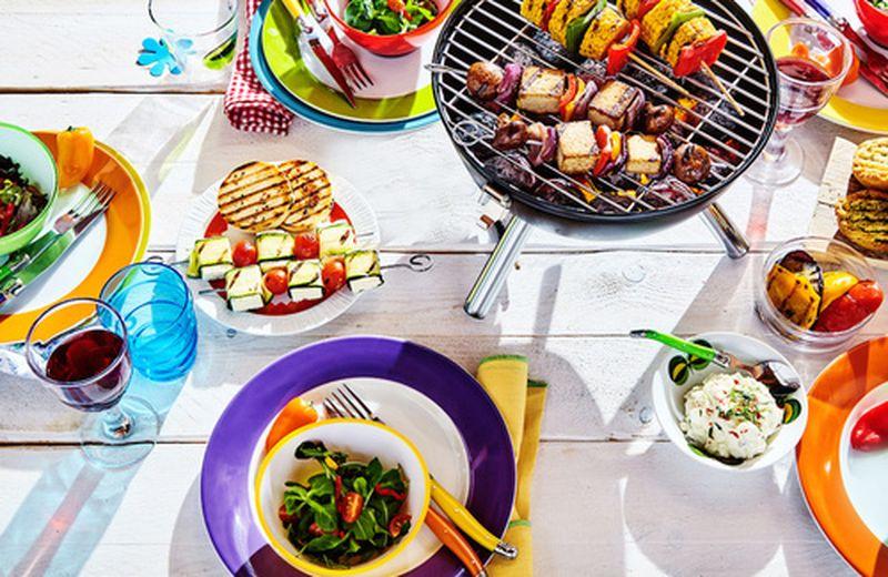 Idee per una grigliata vegetariana