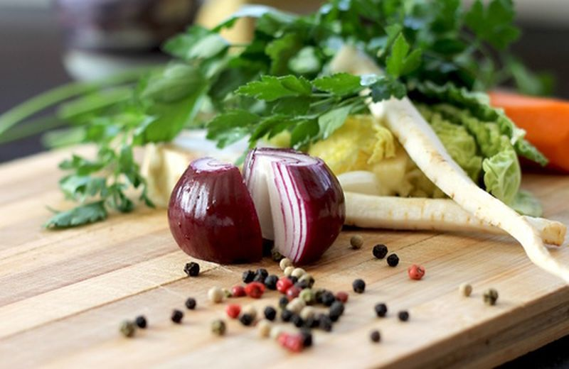 Le cipolle rosse nelle ricette vegetariane
