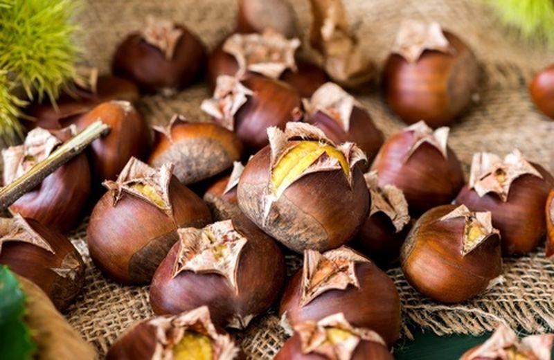 Frutta top di ottobre: le castagne