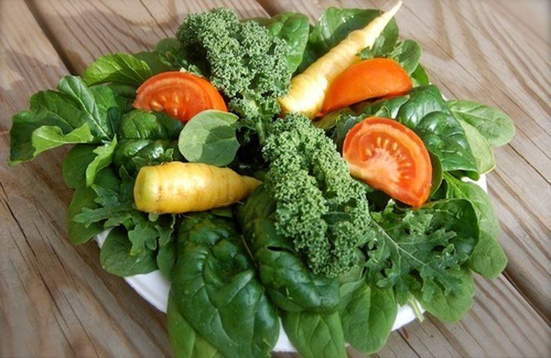 Verdure a foglia verde, il ruolo nell'alimentazione